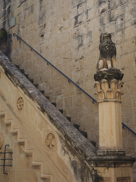 Palazzo Falson Interior Courtyard of the Best preserved Medieval Mansion in Mdina