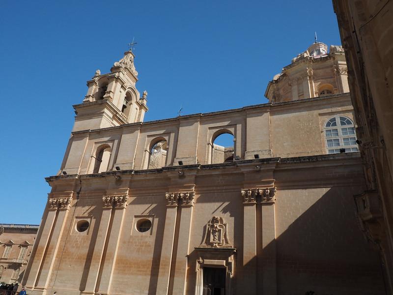Exterior of Cathedral - Mdina, Malta