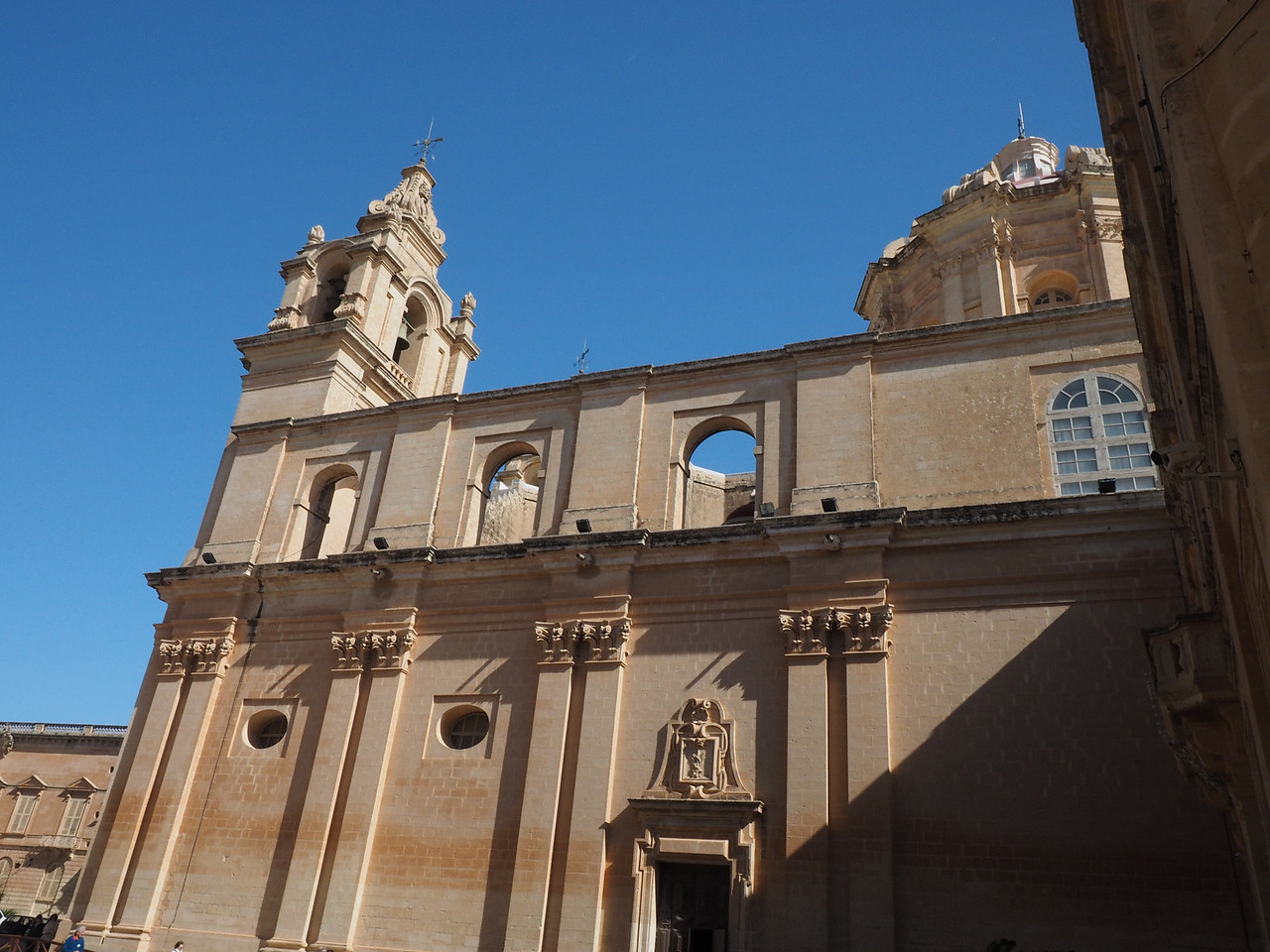 Exterior of Cathedral - Mdina, Malta