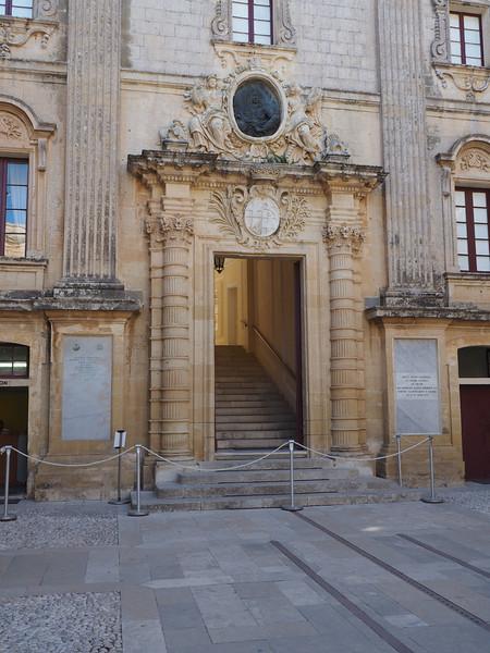 Facade of the Duke's Palace - Mdina, Malta