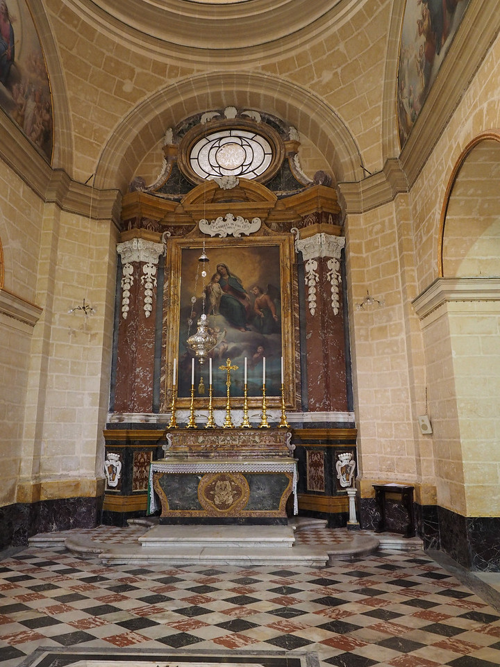 Chapel in St. Paul's Cathedral - Mdina