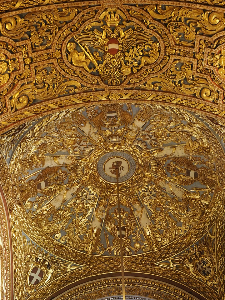Ceiling of the Chapel for the Langue of Italy