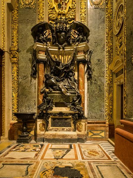 Tomb of Grand Master Marc Antonio Zondadari