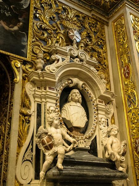 Tomb of Grand Master Martin de Redin