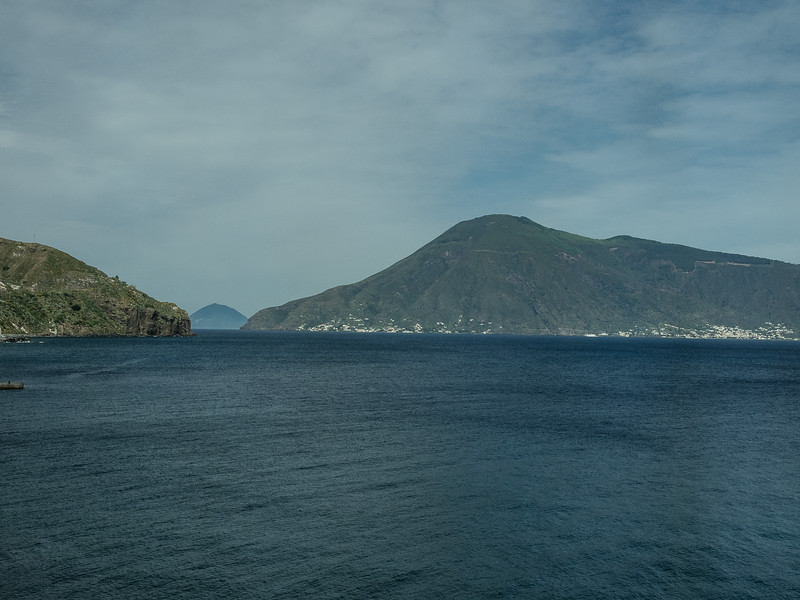Lipari - View of smaller islands