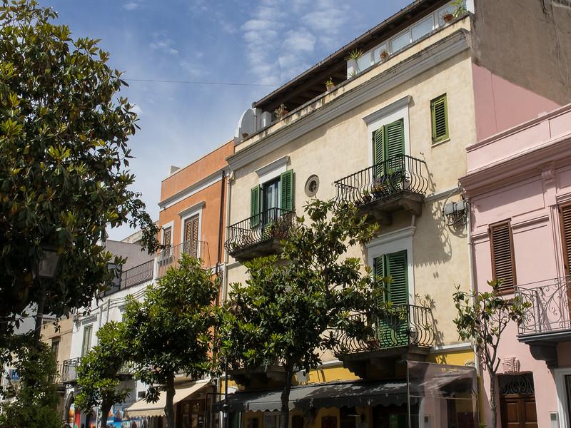 Lipari street scene