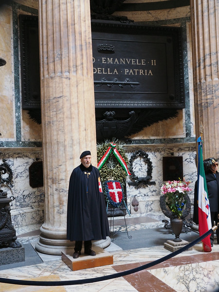 Tomb of Vittorio Emmanuelle II first king of the united Italy