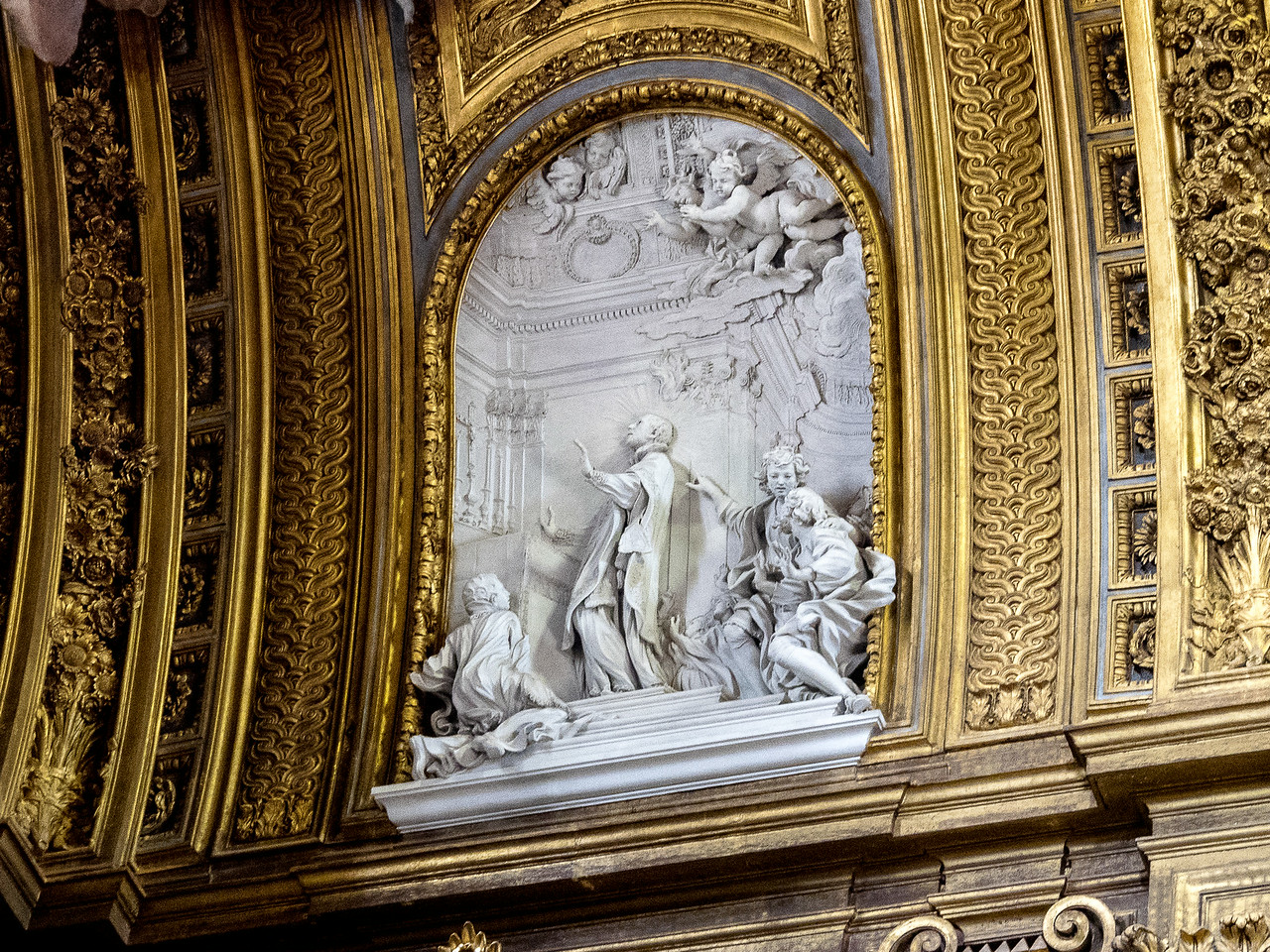 St. Francis Xavier entering Heaven