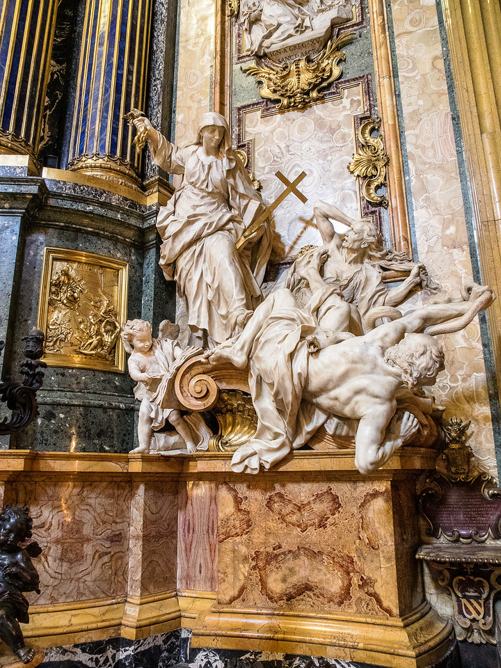 Religion overcoming Heresy
