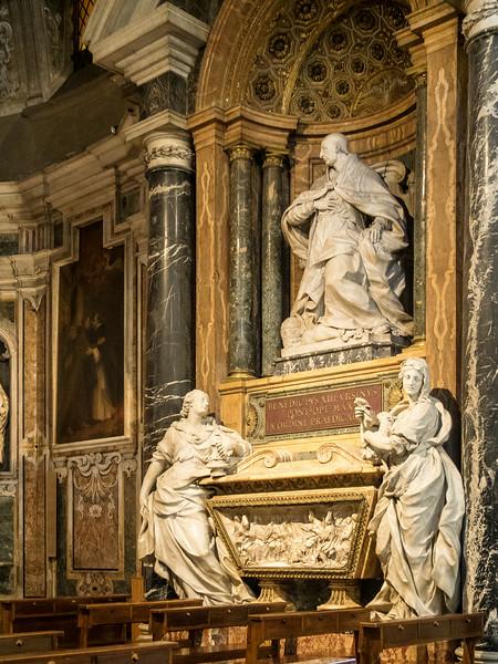 Santa Maria Sopra Minerva - Chapel of St. Dominic,Tomb of Pope Benedict XIII