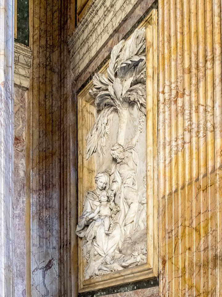 Pantheon Virgin Mary, Joseph & Christ during the Flight into Egypt