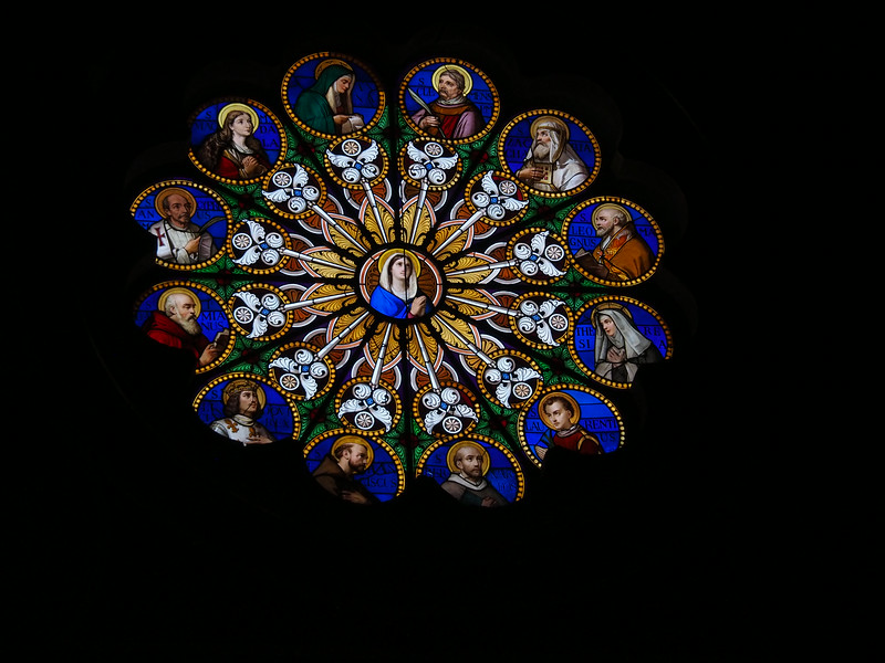 Stained Glass Santa Maria Sopra Minerva