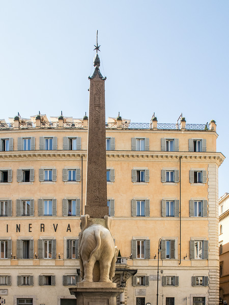 Bernini Elephant supporting an Egyptian Obelisk