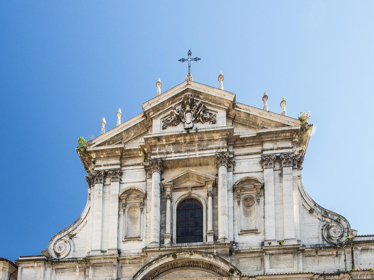 Church of Sant' Ignazio built 1626 -1685 Dedicated to St. Ignasius Loyola