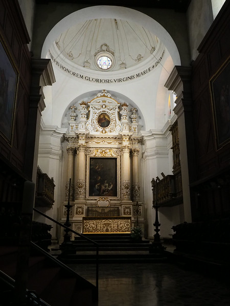 Chapel dedicated to the Virgin Mary