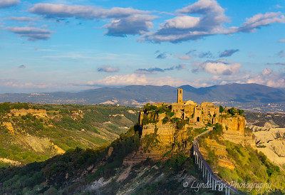 Isolated Town of Civita Di Bagnoregio