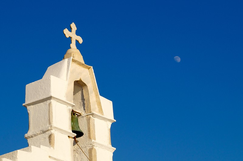 Moon and Cross on Samos