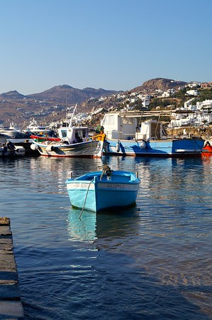 Fishing Boats on Mykonos