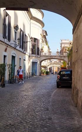 Quiet Street in Rome