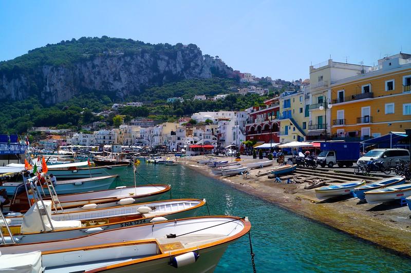 Port of the Isle of Capri