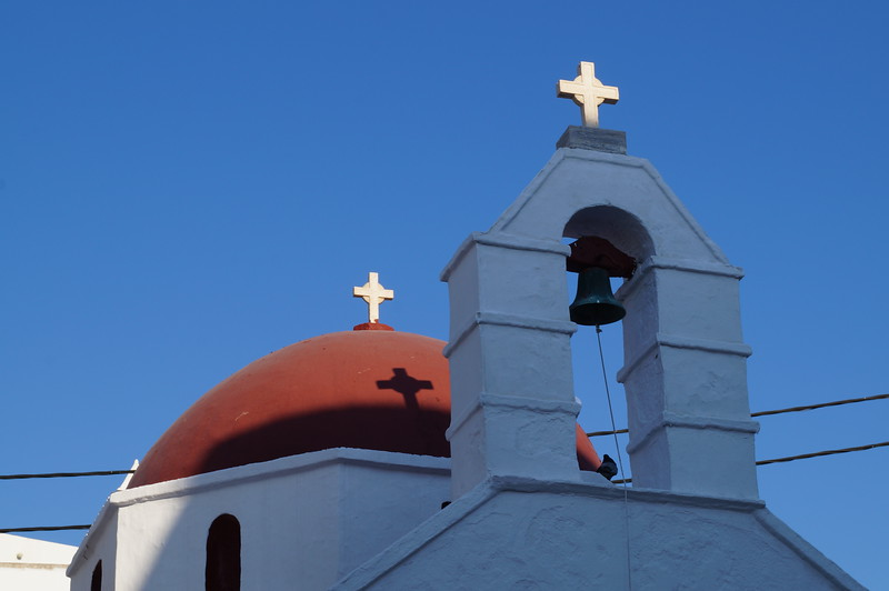 Crosses on Mykonos