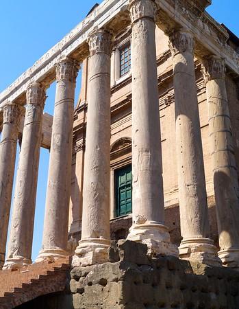 Temple in Roman Forum