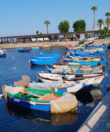 Fishing Boats of Bari