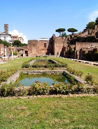 Roman Forum Vestal Virgins
