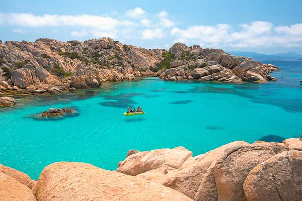 Cala Coticcio, Island of Caprera, Sardinia