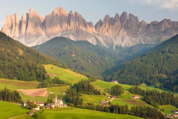 Vai de Funes, Dolomites, Italy