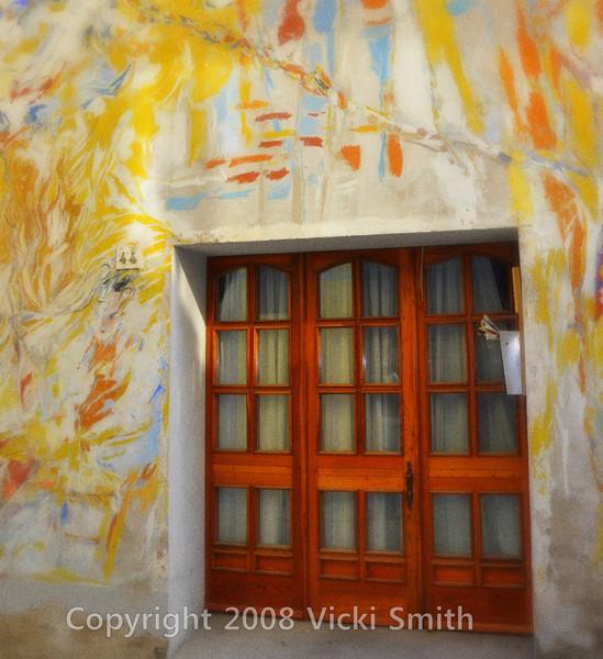 Dozza, Italy. Town walls