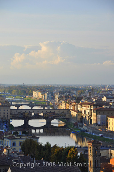 Florence, Italy. View from Piazza Michelangelo
