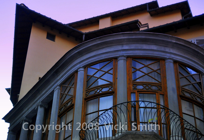 Florence, Italy.  This apartment looks over the best gelato store in Italy. How lucky can one person be?
