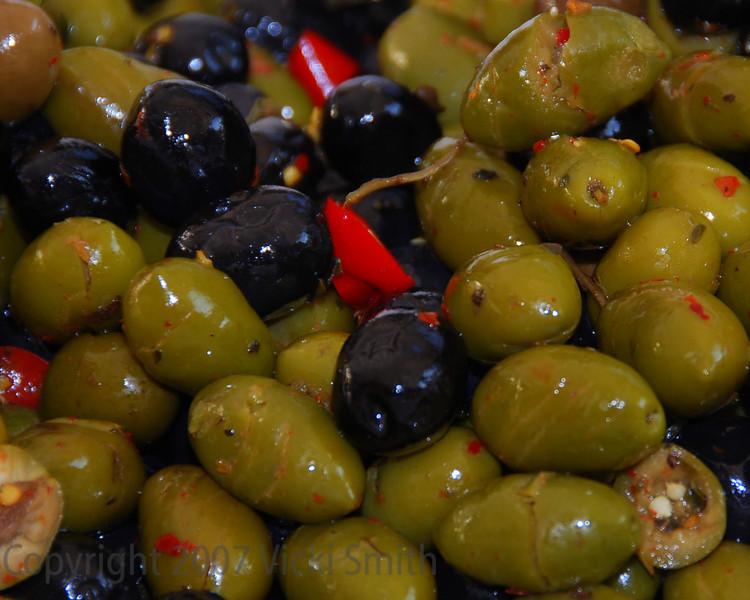 Mixed Olives - Bologna, Italy