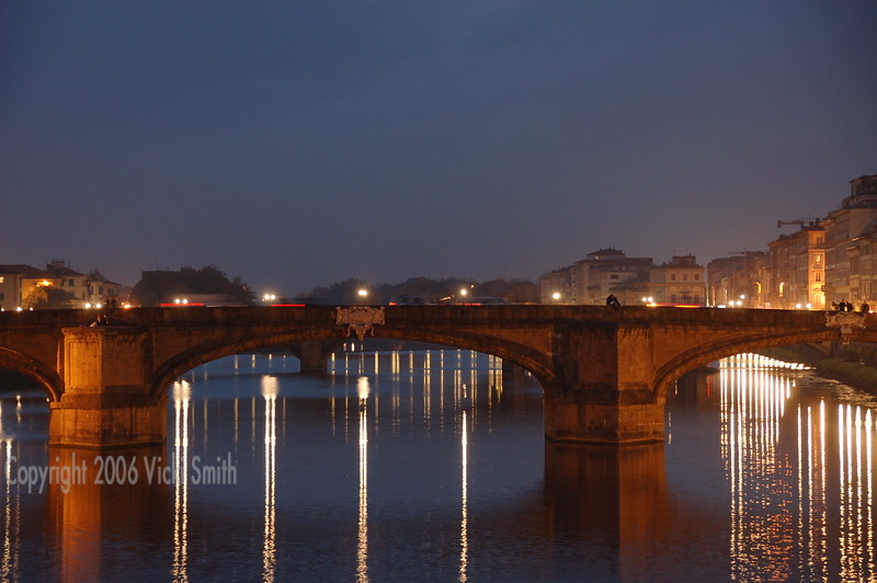 Florence at night.  So very, very beautiful.