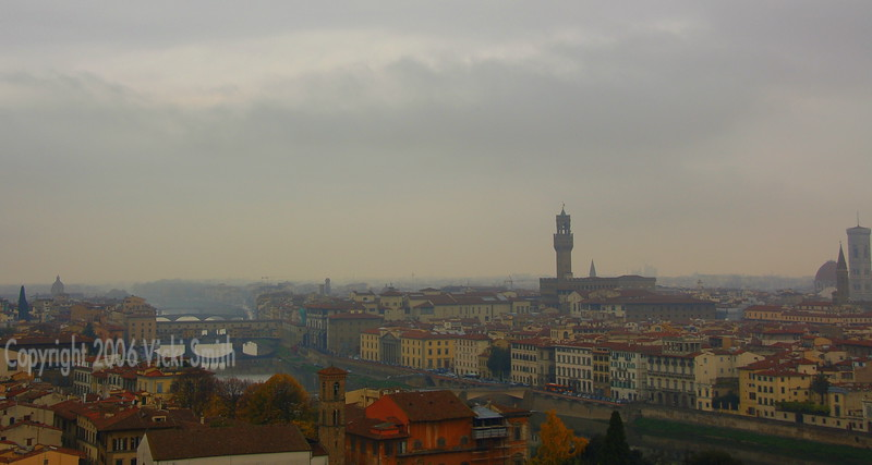 View from the Piazza Michelangelo, in my opinion the best view of the city