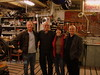 No trip to Italy would be complete without a quick trip to the factory and a stop to pay my respects to Rino Caracchi at the NCR workshop.  Since this was a quick day trip Reno Leone met us at Rino's shop. That's Stefano Caracchi (owner of the SC NCR WSBK team, Rino Caracchi, me, Reno Leone.  A glass of homemade prosecco or two, a quick inspection of Vicki 6 (the all ready to go already! Motogiro Sicily 2007 Ducati 175SS Rino prepares for me to ride) much hugging and we were back on the train to Florence to meet friends for dinner.<br /> Rich Lambrechts Photo