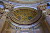 Ceiling of the Pantheon. Incredible as it may seem, this building was a Pagan tribute to the Gods built in 125AD and is still in this sort of shape. It's spectacular