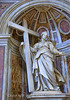 Pier of Saint Helena - Saint Peter's Basilica<br /> This Church is so large it covers 5.7 acres and holds 60,000 people. But when you visit what strikes you as much as the scale is the emotion