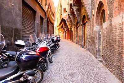 Bologna, Italy alley
