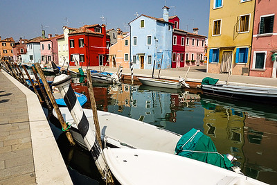 Burano, Italy place where  lace is made