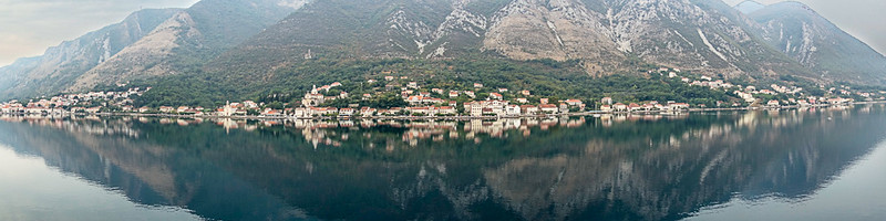 Bay in Kotor, Montenegro