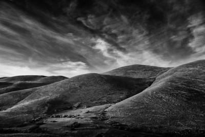 Abruzzo Hills in Monochrome