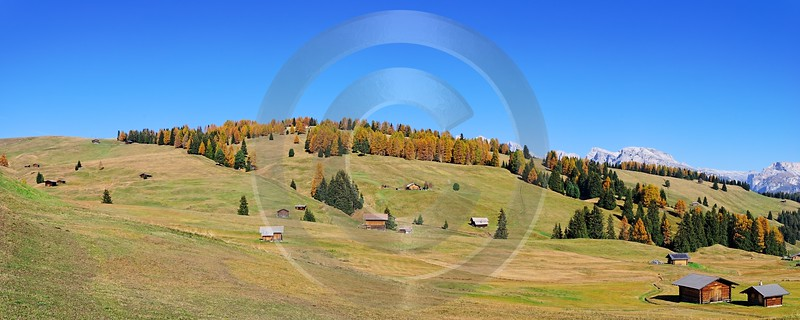 Seiser Alm Alpe Di Siusi Fine Art Printer Park Leave Fine Arts Island Rock Creek - 000442 - 27-10-2006 - 9591x3837 Pixel