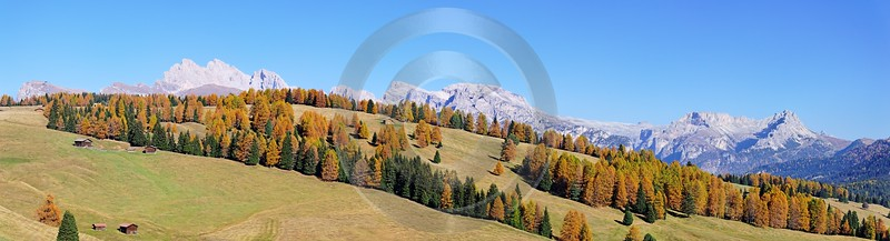 Seiser Alm Alpe Di Siusi Fine Art Prints For Sale Senic Panoramic Art Photography Gallery Rock - 000452 - 27-10-2006 - 13865x3759 Pixel
