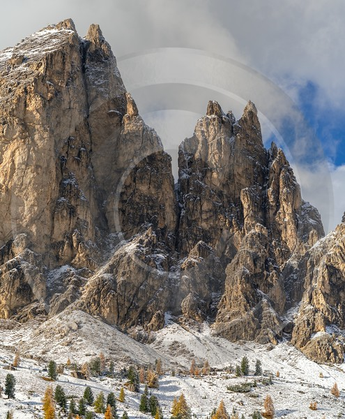Passo Gardena Wolkenstein South Tyrol Italy Panoramic Landscape Rain Famous Fine Art Photographers - 017338 - 15-10-2015 - 7618x9227 Pixel