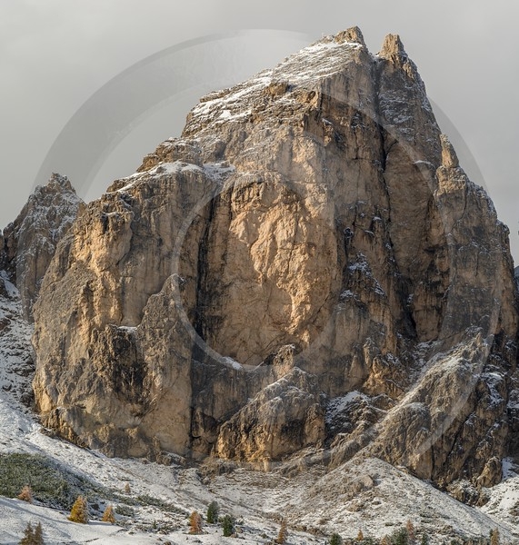 Passo Gardena Wolkenstein South Tyrol Italy Panoramic Landscape Country Road Fine Art Print Park - 017339 - 15-10-2015 - 7682x8067 Pixel