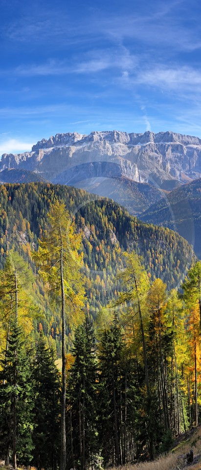 Val Gardena Groeden Monte Pic Foto Herbst Dolomiten Sea What Is Fine Art Photography Sale City Barn - 001408 - 17-10-2007 - 4447x10399 Pixel