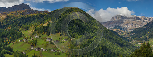 Ornella South Tyrol Italy Panoramic Landscape Photography Scenic Autumn Prints For Sale Shore - 017374 - 11-10-2015 - 28443x10742 Pixel