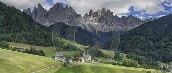 Santa Maddalena Sankt Magdalena Village Summer Color Dolomites Prints Senic Fine Art Photo - 024969 - 18-06-2018 - 17172x7248 Pixel